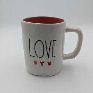 Rae Dunn Valentine's love large ceramic mug 19.5oz